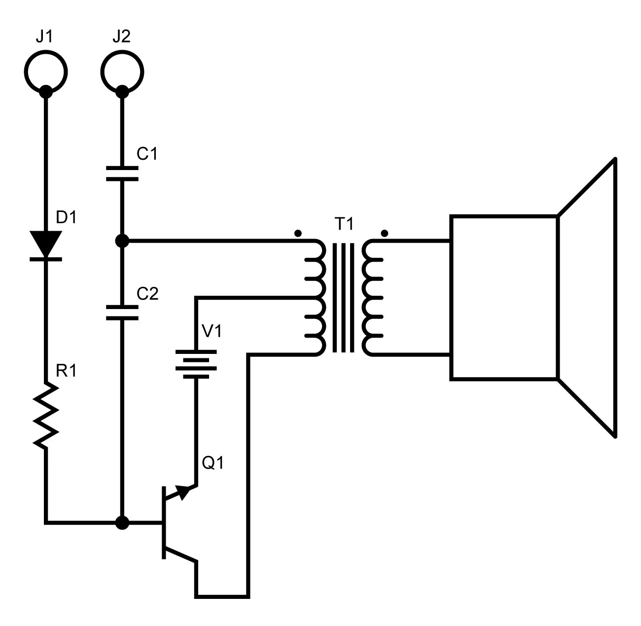 Inspecting Electronic Circuits With An Audible Circuit