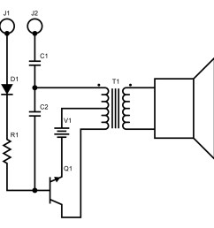 this is a single swing blocking oscillator circuit used to create narrow timing pulses  [ 1300 x 1270 Pixel ]
