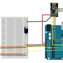 Ps2 Controller To Usb Wiring Diagram For Smoke Detectors Uk Create A Two Channel Remote Control With The Nrf24l01 Circuit 2 Servo Receiver