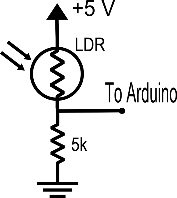 ldr circuits projects