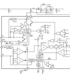 block diagram of the lt8582 from the datasheet pdf  [ 1152 x 920 Pixel ]