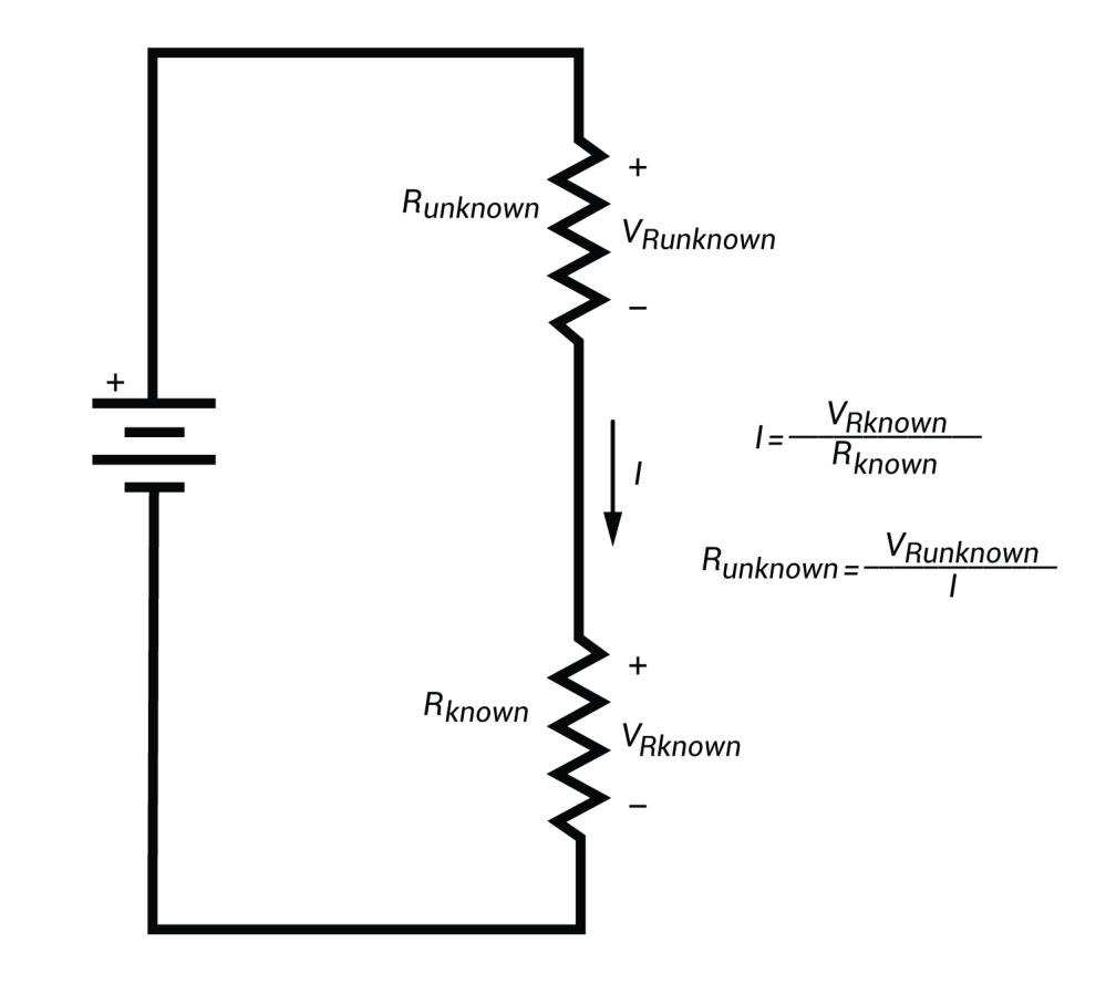 medium resolution of calculating unknown resistance using ohm s law
