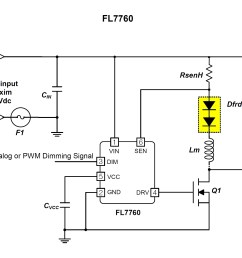 fl7760 application schematic image taken from the datasheet pdf  [ 1856 x 1564 Pixel ]