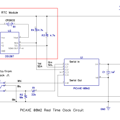 How To Make A Circuit Diagram Plant Cell Test Build Real Time Clock With Picaxe