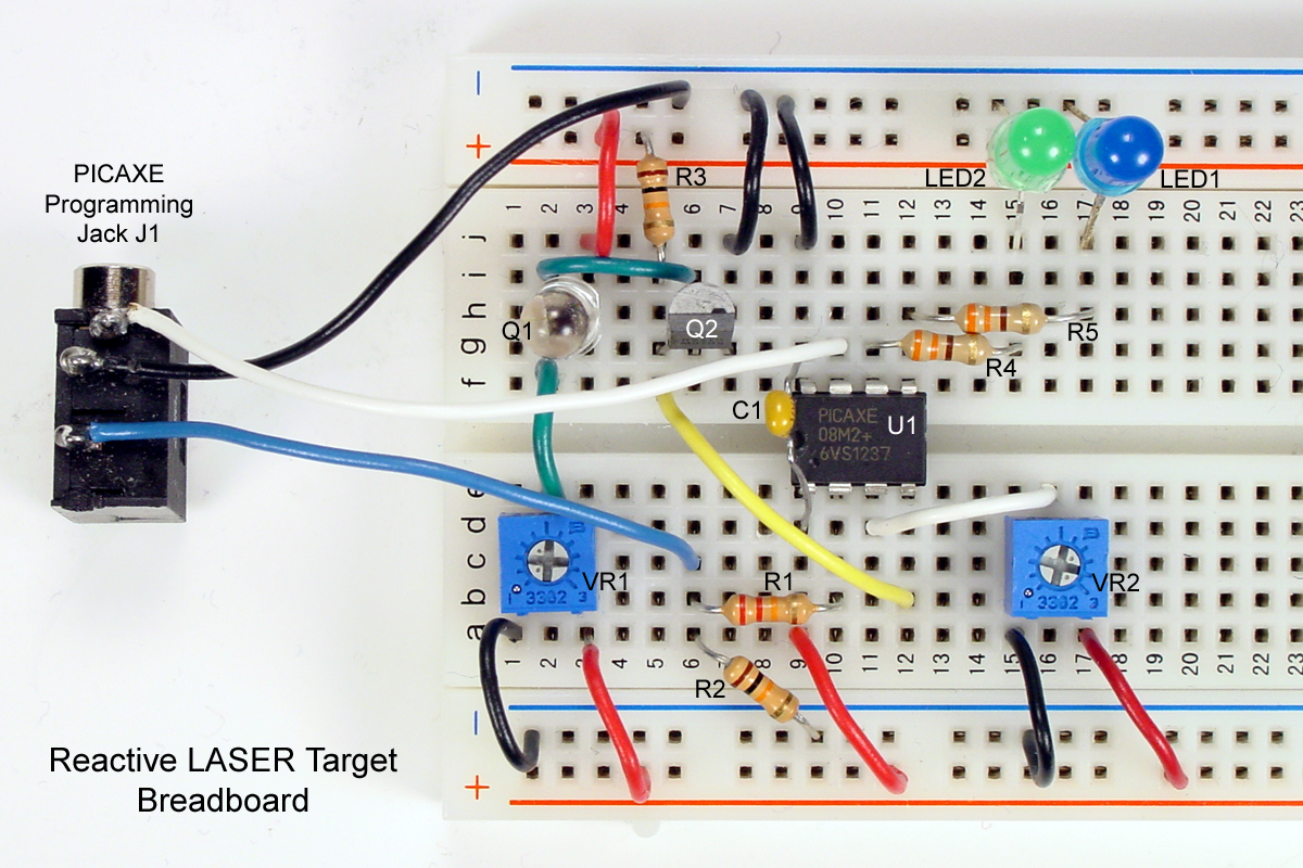 Given The Schematic Diagram And The Solderless Breadboard Photo You