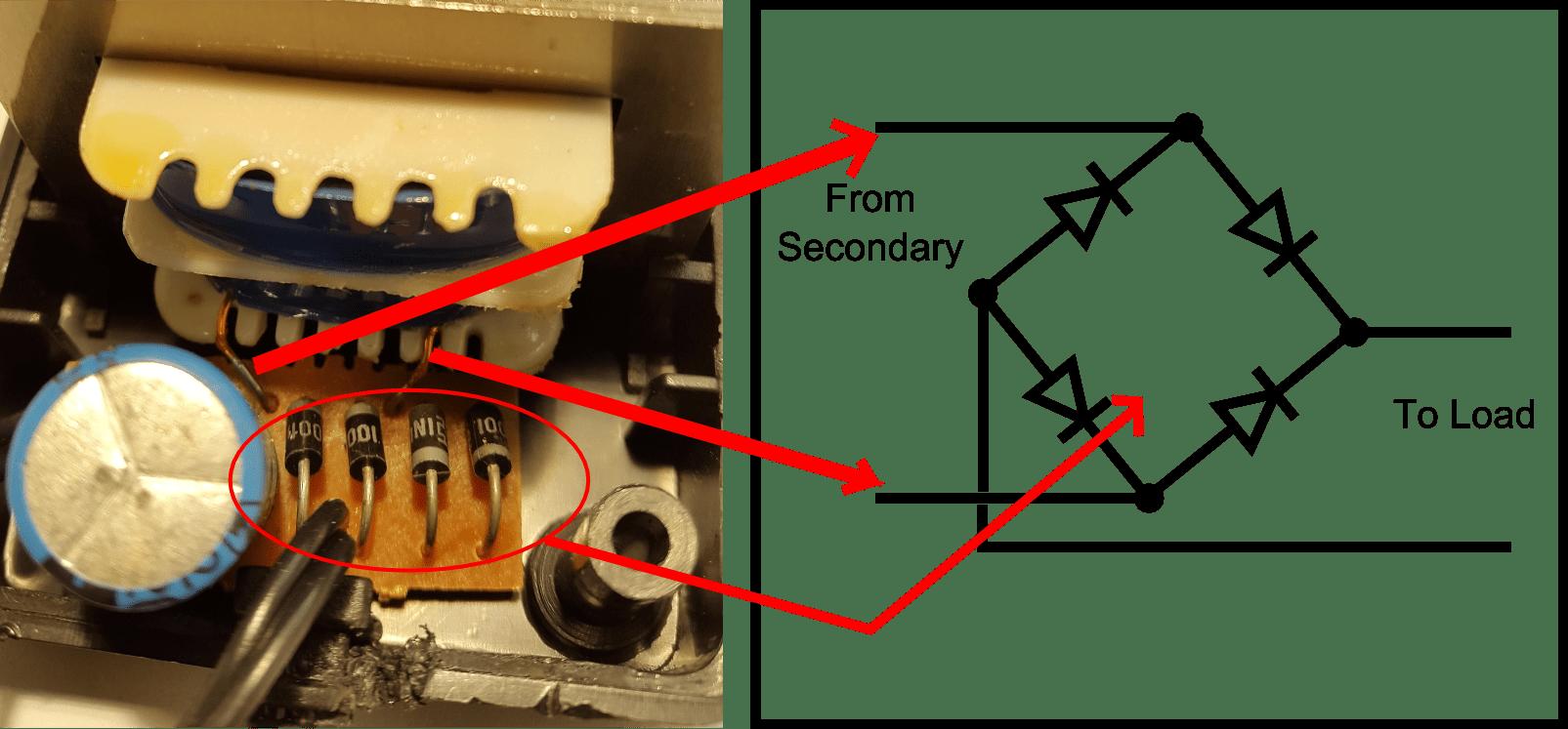 hight resolution of full bridge rectifier circuit and schematic