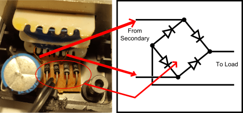 small resolution of full bridge rectifier circuit and schematic