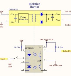 how to eliminate ground loops with signal isolation how to build video isolator circuit diagram [ 1438 x 1200 Pixel ]