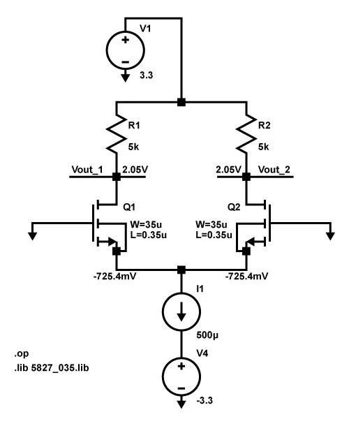 how to calculate voltage drop in a circuit