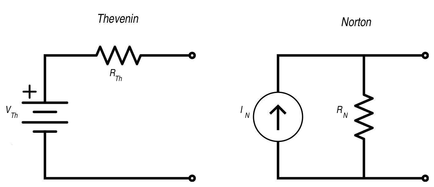 thvenin and norton equivalent circuits