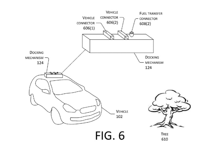 Backup Power: Amazon Granted Patent to Charge Electric