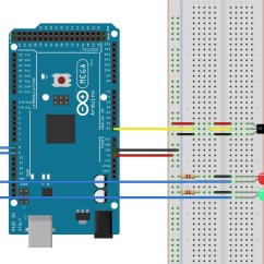 Convert Circuit Diagram To Breadboard 2006 Cobalt Ss Radio Wiring Reading Sensors With An Arduino