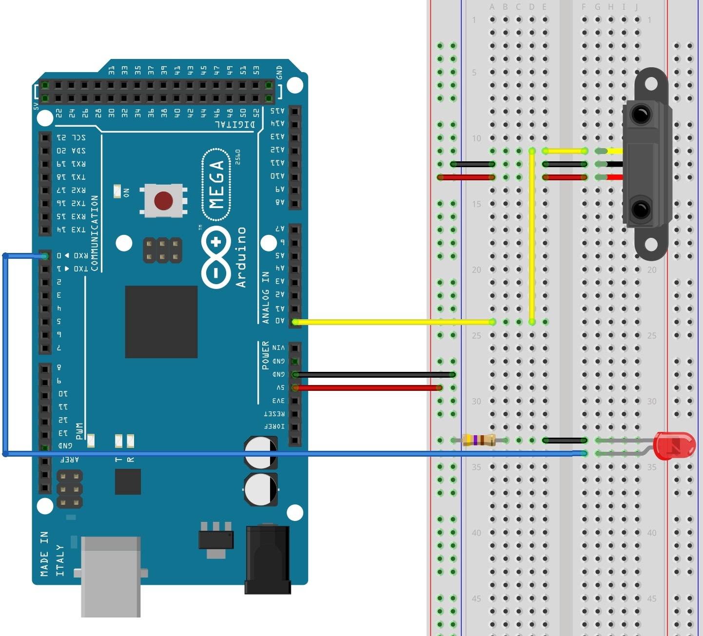 medium resolution of reading sensors with an arduinoarduino light sensor wiring diagram 11