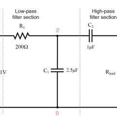 capacitive band pass filter  [ 1156 x 795 Pixel ]