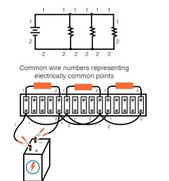 building simple resistor circuits series and parallel circuits electronics textbook [ 869 x 1044 Pixel ]