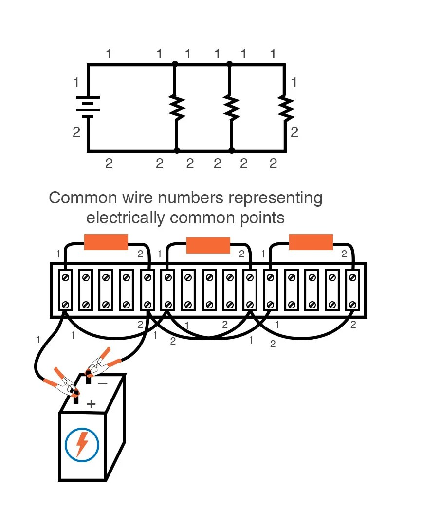 hight resolution of building simple resistor circuits series and parallel circuits electronics textbook