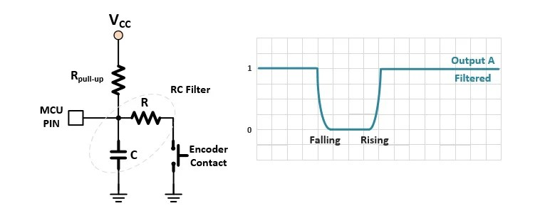 Ac Capacitor Wiring Diagram How To Use A Rotary Encoder In An Mcu Based Project Projects