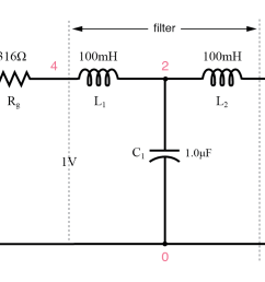circuit of source and load matched l c low pass filter  [ 1292 x 778 Pixel ]