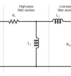 inductive band pass filter  [ 1135 x 770 Pixel ]