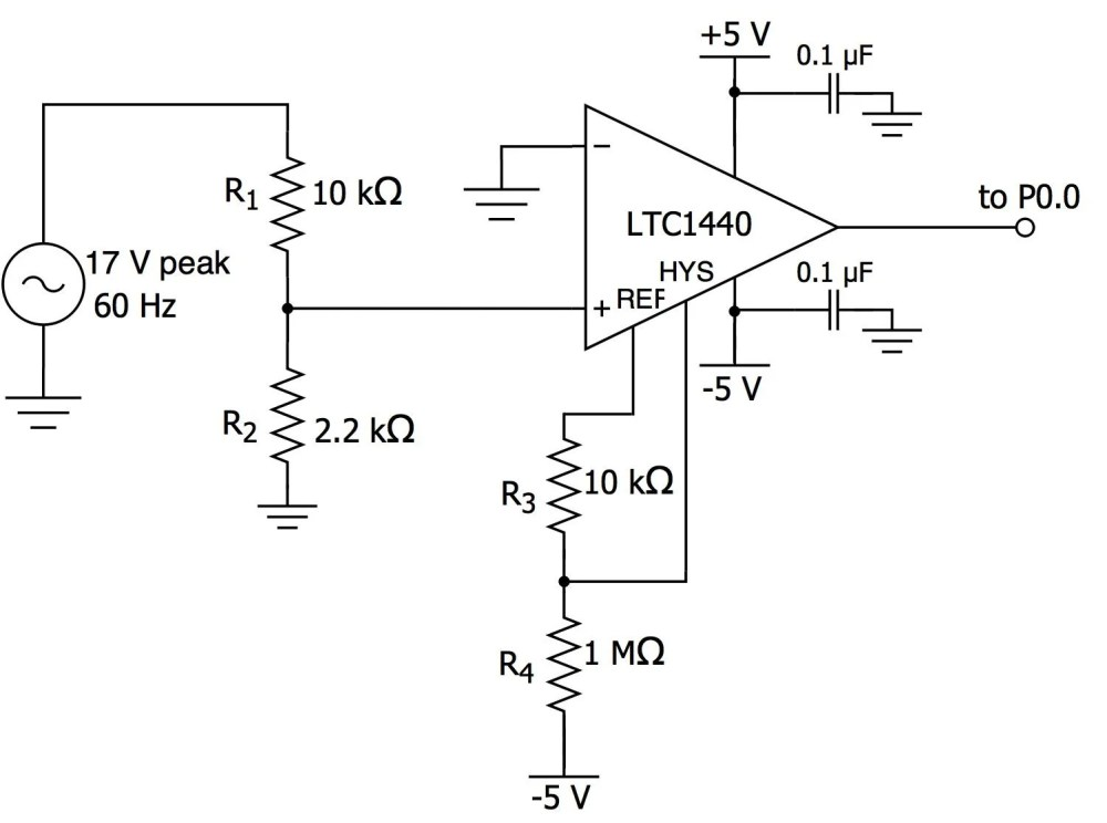 medium resolution of circuit here is the schematic for our zero cross detection