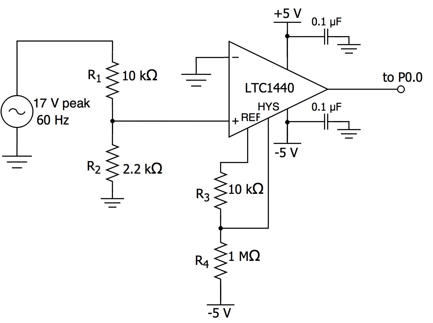 hight resolution of circuit here is the schematic for our zero cross detection