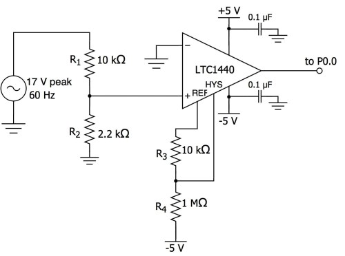 small resolution of circuit here is the schematic for our zero cross detection
