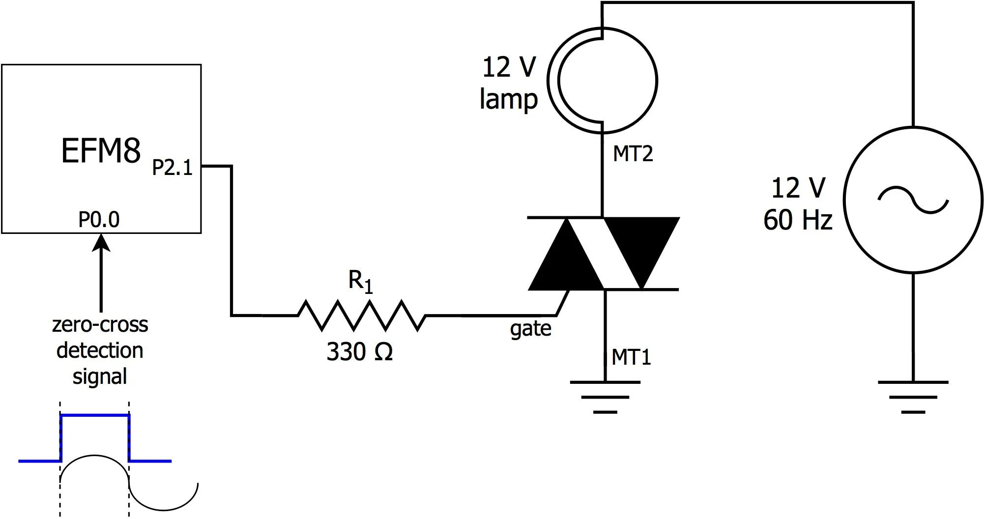 Ambient Light Monitor: Using a Triac to Adjust Lamp Brightness