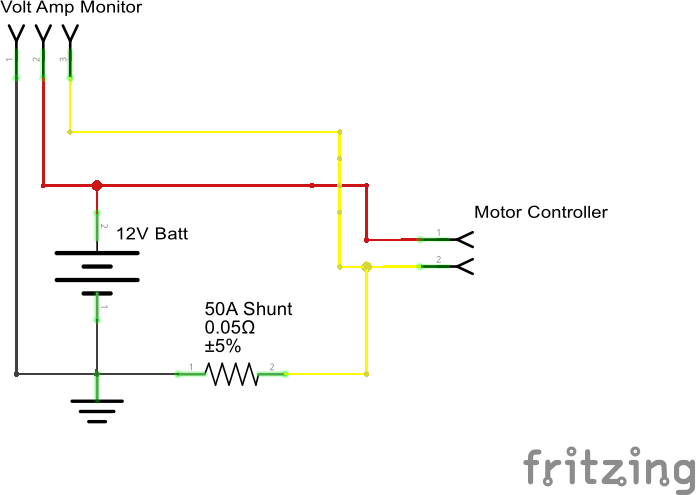 electric scooter motor controller wiring diagram umts network architecture upgrade your power wheels with control basics voltage current meter