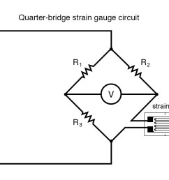 quarter bridge strain gauge circuit [ 1115 x 846 Pixel ]