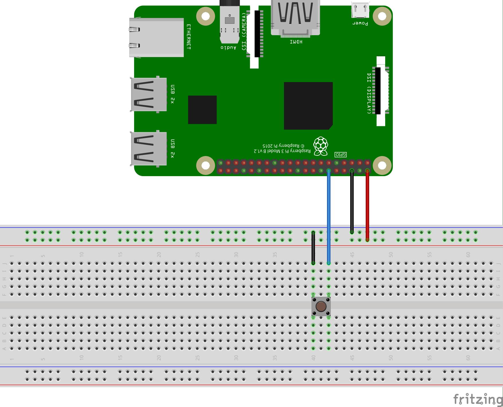 raspberry pi gpio wiring diagram how to draw eye build a pushbutton switch