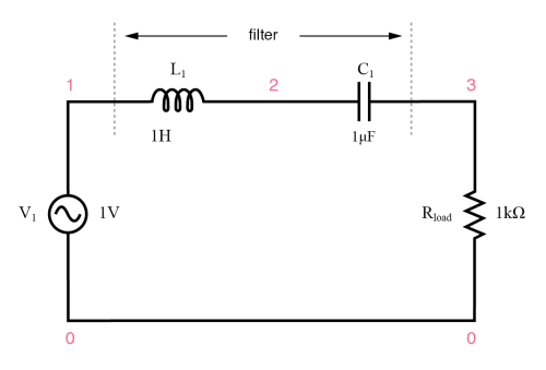 small resolution of series resonant lc band pass filter