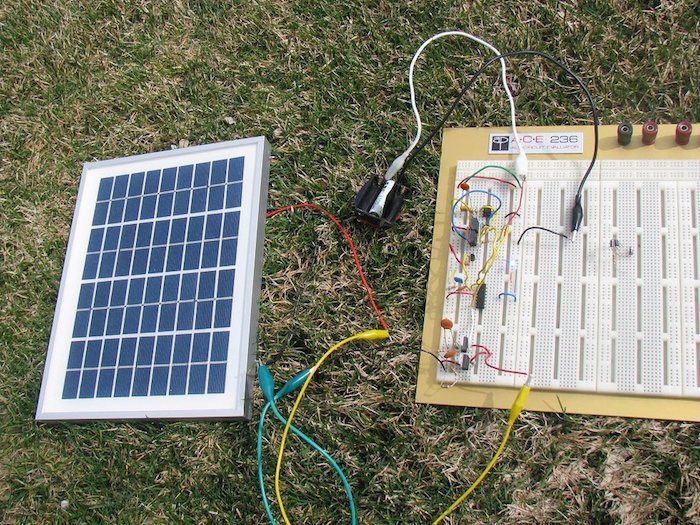 Aa Battery Solar Charger Circuit Diagram