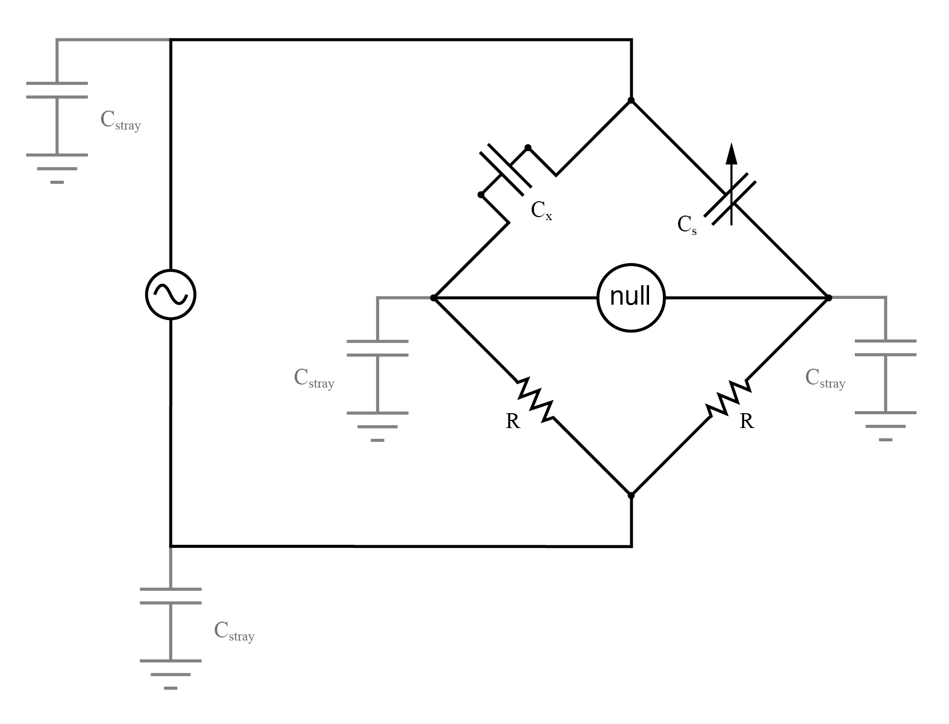 hight resolution of ac bridge circuits ac metering circuits electronics textbook ac line current detector circuit diagram and instructions