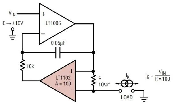 How to Design a Simple, Voltage-Controlled, Bidirectional