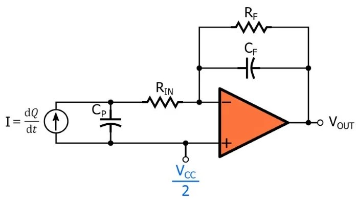 How to Design Charge Amplifiers for Piezoelectric Sensors