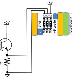 the complete ir remote event counter wiring diagram note the transistor littlebits number driver circuit is shown in at the right section of the  [ 1375 x 631 Pixel ]
