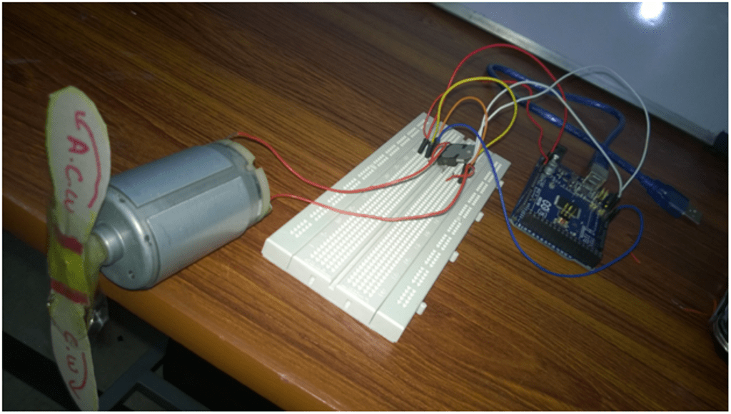 Speed And Direction Control Of Dc Motor Using Arduino