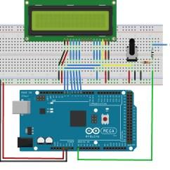 Digital Ac Ammeter Circuit Diagram A Of House In Spanish Make Voltmeter Using An Arduino