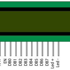 Schematic Diagram Definition Kicker Cvr 10 2 Ohm Wiring Interface An Lcd With Arduino