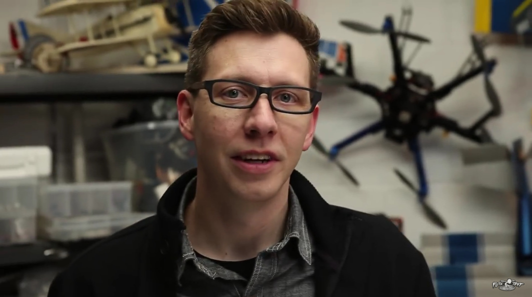 Engineer Spotlight Flite Tests Chad Kapper on Drones