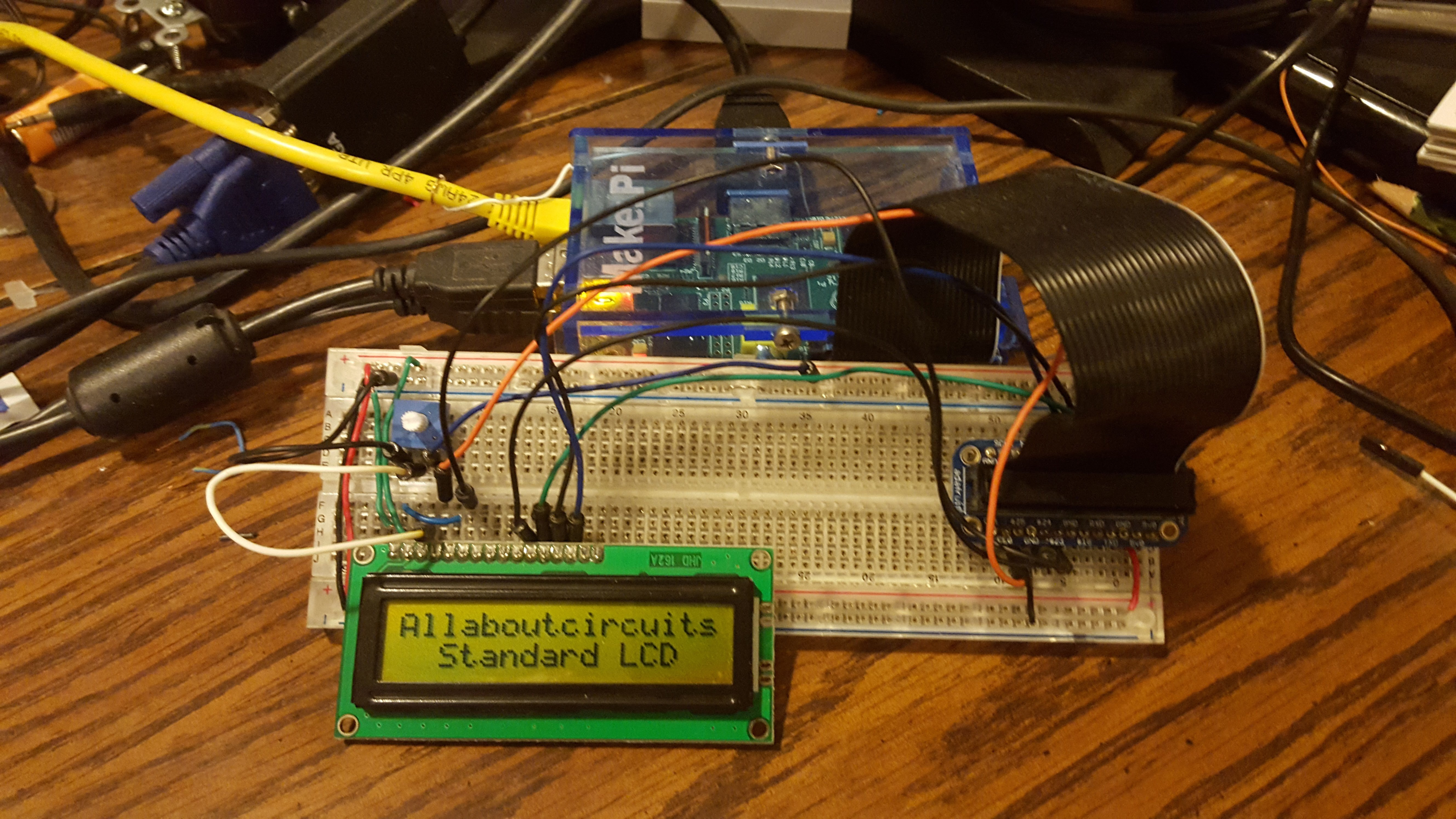 Building Raspberry Pi Controllers Part 6 Displaying