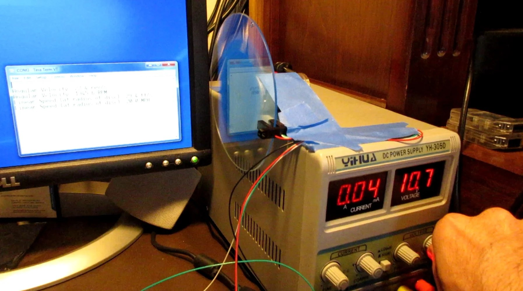 How To Build A Tachometer Speedometer With An