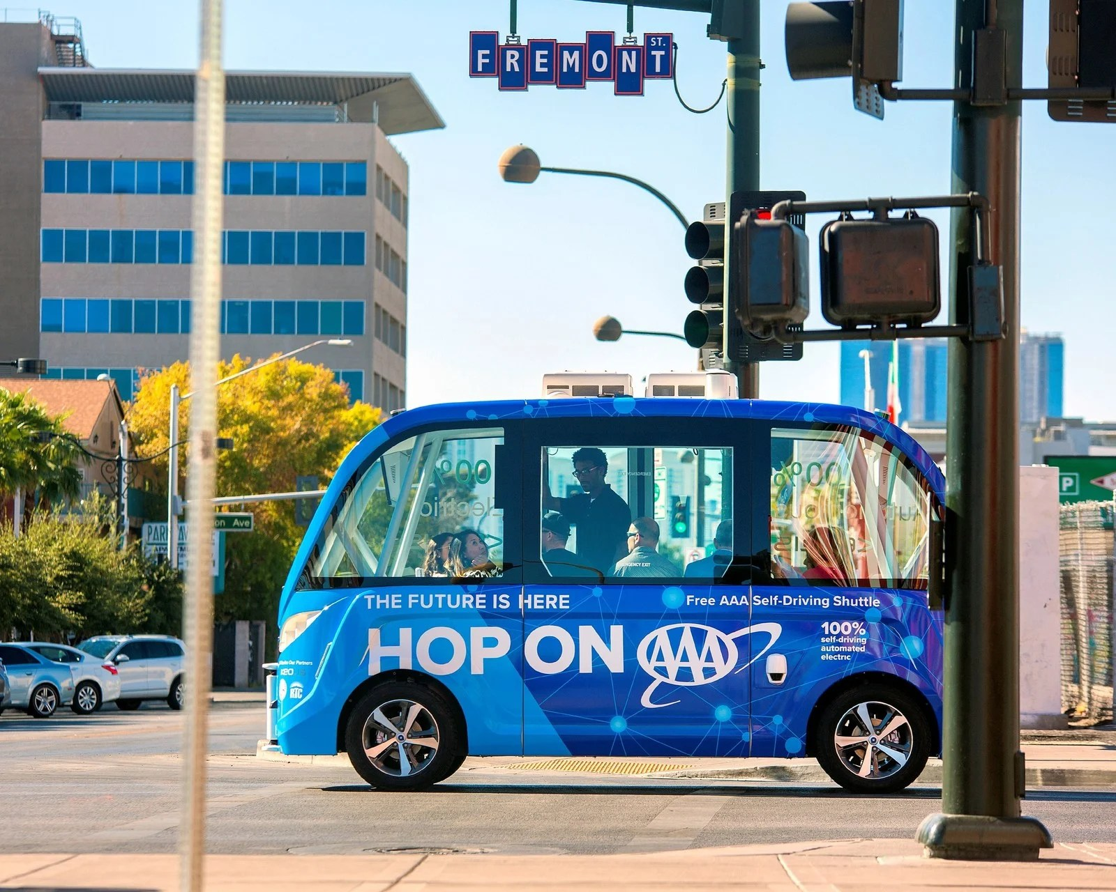 What Some Big Cities Are Doing About Driverless Cars