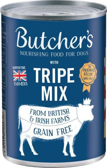 Butcher's Tripe Mix | Nutritional Rating 84%