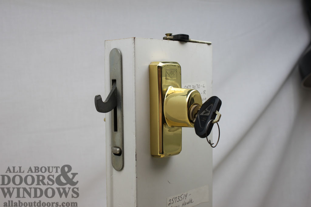 replacing a sheared tailpiece receiver in an andersen sliding patio door