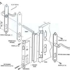 Mortise Lock Parts Diagram International 4700 Wiring Pdf Papaiz Installation Instructions