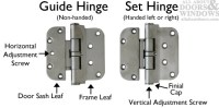 Adjusting HOPPE Hinges