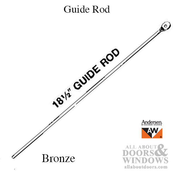 DISCONTINUED: Guide Rod, 18-1/2 inch, Andersen Awning and
