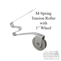 M-Spring Tension Roller with 1 Inch Steel Wheel for ...