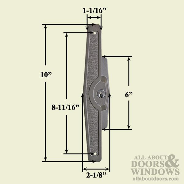 marvin truth patio door handle complete handle set bronze
